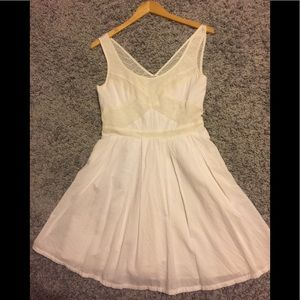American Eagle beige dress